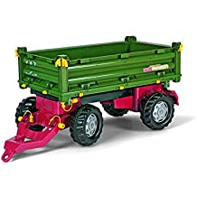 Rolly Toys Trailer rollyFarm Anh/änger f/ür Traktor; Heckklappe zum /Öffnen; Kinder ab 2 1//2 Jahre 122097