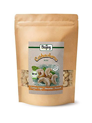 Biojoy BIO-Cashewkerne, roh und unbehandelt, Anacardium occidentale (0,5 kg)
