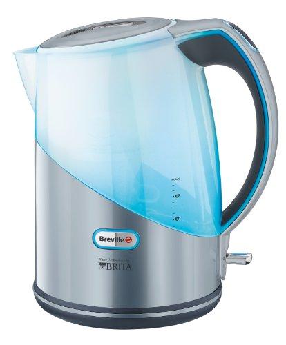 Breville VKJ789X - Hervidor, jarra con filtro BRITA® semi-transparente, 2200 W