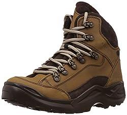 Franco Leone Mens Khakhi Leather Boots - 10 UK/India (44 EU)