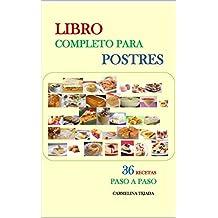 LIBRO COMPLETO PARA POSTRES (COCINA.