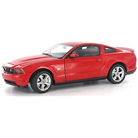 Auto Art 72913 2010 Ford Shelby GT500 1:18 Scale Die Cast in Torch Red by AUTOart