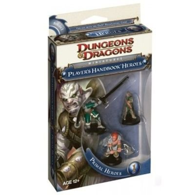 Wizards of the Coast W250550 - Wizards of the coast - Dungeons & Dragons Primal Heroes 1