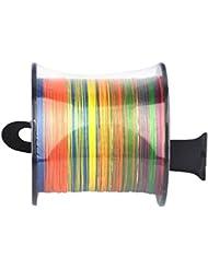 Lifebe - Sedal de pesca con diferentes tensiones de ruptura en 2,72, 9,07, 18,14, 27,21 o 45,35 kg, Color, 500M/20LB