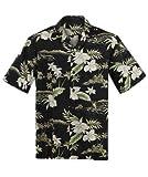 Made in Hawaii Original Hawaiihemd Aloha Shirt Grössen M-7XL Verschiedene Designs (Orchid, L)
