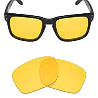 Mryok UV400 Replacement Lenses for Oakley Holbrook - HD Yellow