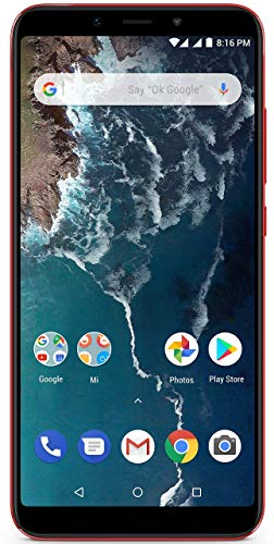 Xiaomi Mi A2 (Red, 4GB RAM, 64GB Storage)