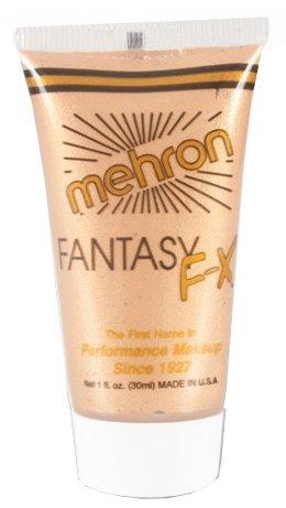 Mehron Fantasie FX Face & Body Make-up Gold-30ml