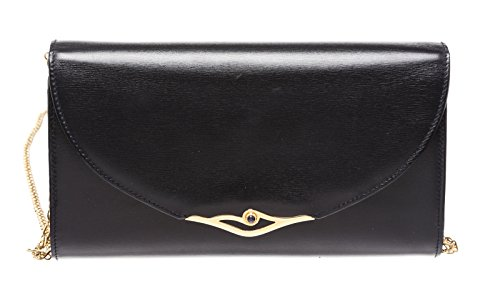 cartier-navy-blue-leather-gold-jeweled-snap-closure-small-clutch-handbag