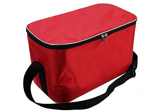 18l große lunchpaket thermo - picknick im freien feld almuerzo handtaschen kühler lagerung portable 2