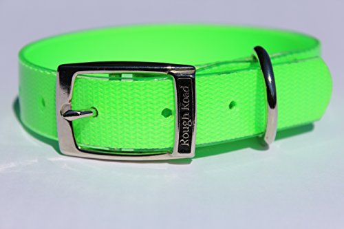 Rough Road Hundehalsband, professionell, weicher Griff und Polybeschichtetes Nylon, ideal für Jagdtraining, Hundetests in verschiedenen Farben