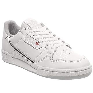 adidas Herren Continental 80 Sneaker, Weiß (Footwear White Grey 0), 45 1/3 EU