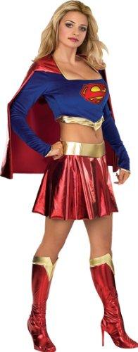 Imagen de superman  disfraz de supergirl para adultos rubie's 888441 m