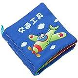 Baby Soft Cloth Book Intelligence Development Cloth Book Toys (Transportation)
