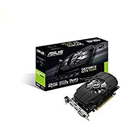 Asus PH-GTX1050-2G Carte graphique Nvidia GeForce GTX 1050, 1455 MHz, 2GB GDDR5X 128 bit