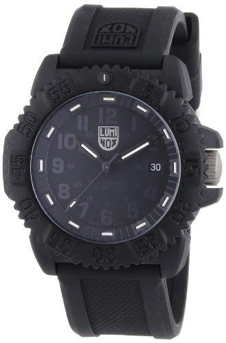 Luminox  – Reloj Analógico de Cuarzo para Hombre, correa de Goma color Negro