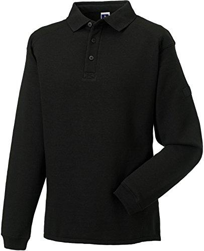 russell-collection-strapazierfahiges-arbeits-sweatshirt-mit-kragen-r-012m-0-xlblack