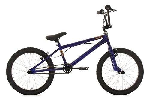 KS Cycling  Fahrrad BMX Freestyle Four, blau, 20, 627B