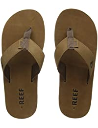 Reef Leather Smoothy, Men's Athletic Sandals