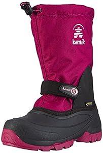 Kamik WATERBUG5G, Unisex-Kinder Schneestiefel, Pink (BER-BERRY), 25