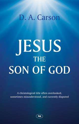 Jesus the Son of God Cover Image