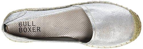 Bullboxer 011f4s009, Espadrilles femme Argent - Silber (SVCK)
