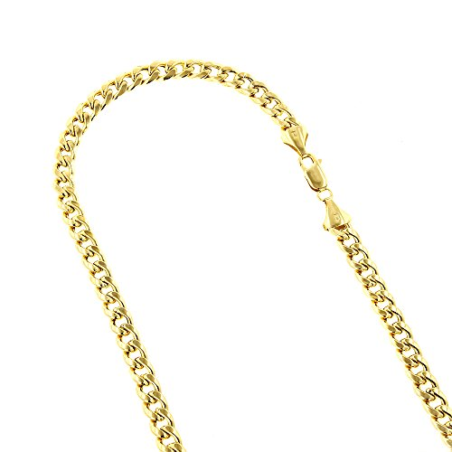 10k-yellow-gold-9mm-wide-hollow-miami-cuban-chain-9-link-bracelet-anklet-lobster-clasp