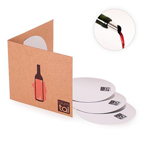 Blumtal 18x Weinflaschen Ausgießer - Stop Drop für die Weinflasche, Ausgießer Ohne Tropfen,...