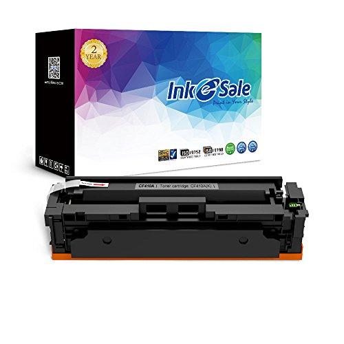INK E-SALE 1x Toner kompatibel zu HP CF410X CF411X CF412X CF413X für HP Color Laserjet Pro M452dn M452nw M452dw MFP-M477fdn MFP-M477fdw MFP-M477fnw Drucker Schwarz