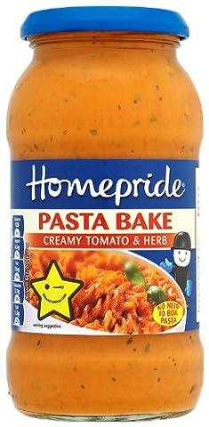 Homepride - Pasta Bake - Creamy Tomato & Herb -