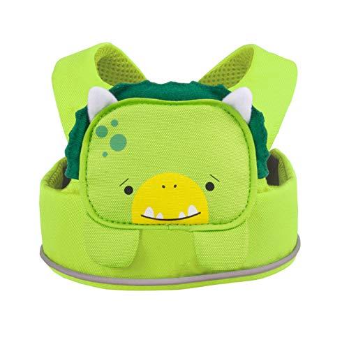 Trunki ToddlePak -Arnés infantil para caminar – Dinosaurio Dudley (Verde)