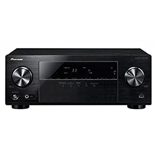 Pioneer 5.1 Channel AV Receiver, VSX-330-K, Amplifier 105 Watt/Channel, Home Cinema, Dolby Digital/TrueHD, DTS-HD, 4K UltraHD passthrough, HDMI with HDCP 2.2, Eco Mode, Front USB/Audio in, Black