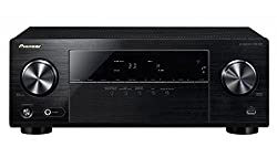 Pioneer 5.1 Channel AV Receiver, VSX-330-K, Amplifier 105 Watt/Channel, Home Cinema, Dolby Digital/TrueHD, DTS-HD, 4K UltraHD passthrough, HDMI with HDCP 2.2, Eco Mode, Front USB/Audio in, Black