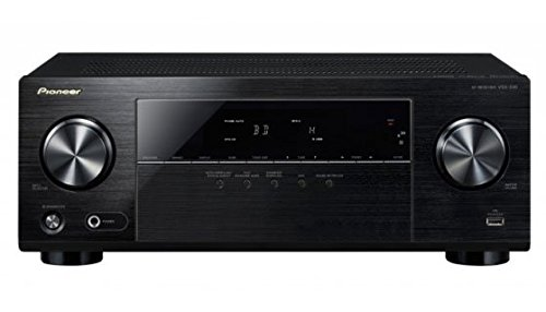 Pioneer VSX-330-K 5.1 AV Receiver (105 Watt pro Kanal, 4K Ultra HD Passthrough, HDMI mit HDCP2.2, Front-USB, Eco-Mode) schwarz