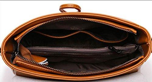 Sacco Per Cadaveri Trasversale Donne Retro Borsa A Tracolla In Pelle Messenger Bag Tote Borsa Con Tracolla Regolabile Beige Tienda De Descuento En Línea VJTm2J