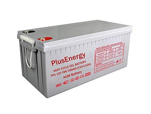 Wccsolar.es Bateria AGM Y Gel 12V PlusEnergy 150AH