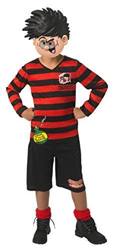 Rubie 's Offizielles Dennis The Menace Jungen Fancy Dress Book Woche TV Cartoon Kinder - Mathe Tag Kostüm