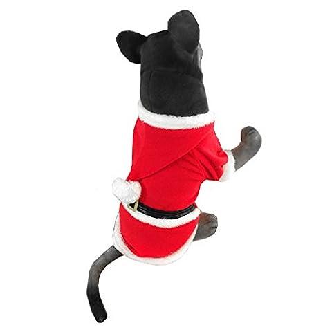 Caveman Costume Pour Boy - Ranphy Santa Chien de Noël Costumes Pet