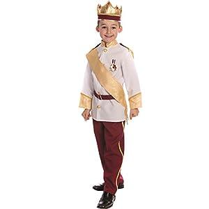 Dress up America Disfraz de príncipe Real para niño Disfraz de príncipe Azul