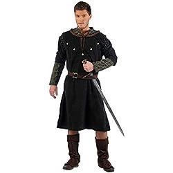 Limit Sport Knappe Recke Deluxe medieval Hombres de disfraces de carnaval 4tlg cinturón de borde de los pantalones túnica - XL