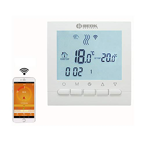 Beok Thermostat BOT-313 WiFi Gas Boiler Thermostat...
