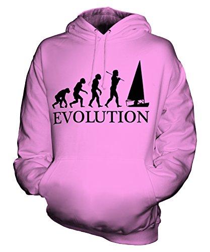 CandyMix Regattasegeln Segeln Evolution Des Menschen Herren T Shirt, Größe 2X-Large, Farbe Rosa
