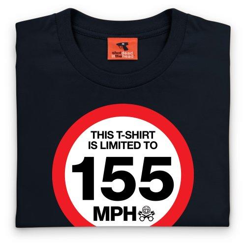 PistonHeads Limited T-shirt, Uomo Nero