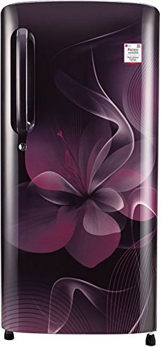 LG GL-B201APDX.APDZEBN Direct-cool Single-door Refrigerator (190 Ltrs, 4 Star Rating, Purple Dazzle)