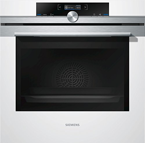 Siemens HB675GBW1F four - fours (Moyenne, Intégré, Electrique, A-30%, Blanc, Rotatif, toucher)