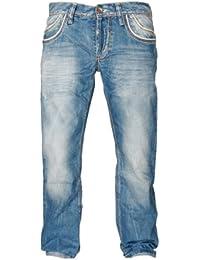 Cipo & Baxx Herren Straight Leg Jeanshose C-0595