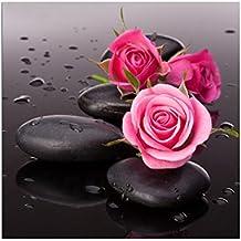 broadroot rosa piedra 5d Diamond Kit de DIY Pintura Decoración del hogar artesanía