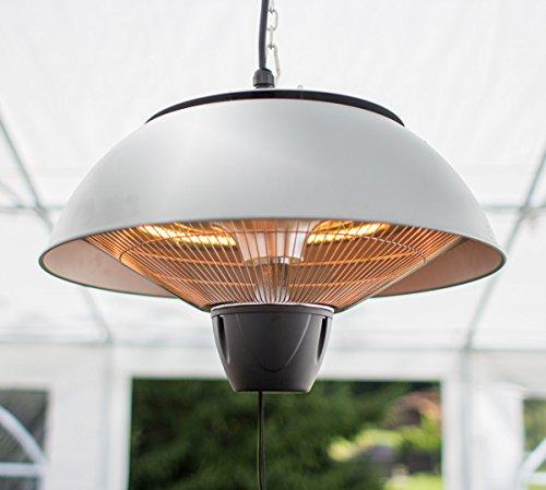 Firefly 1.500 Watt Infrarot-Heizstrahler (Halogen) Terrassenheizung, Deckenmontage, silber - 3