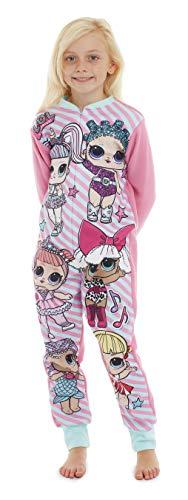 LOL Surprise Mädchen Schlafanzug Einteiler Pyjama 5-10 Jahre (7-8 Jahre)