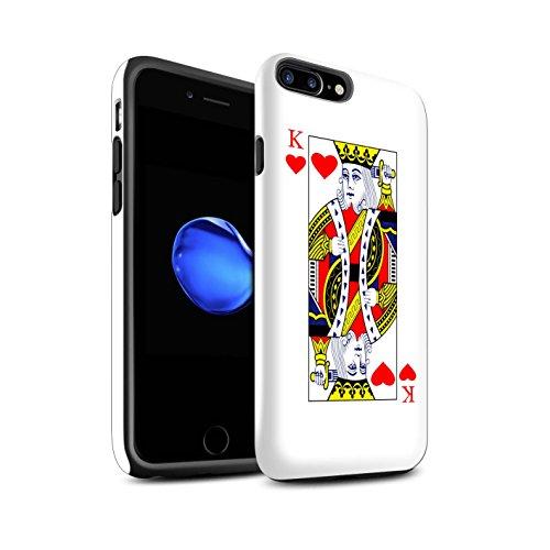 Coque Brillant Robuste Antichoc de STUFF4 / Coque pour Apple iPhone 4/4S / Joker Design / Cartes à Jouer Collection Dames de Cour